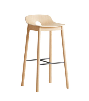 Mono bar stool, white