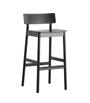 Pause bar stool 2.0, black
