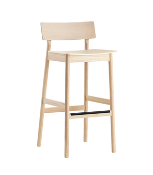 Pause bar stool 2.0, white