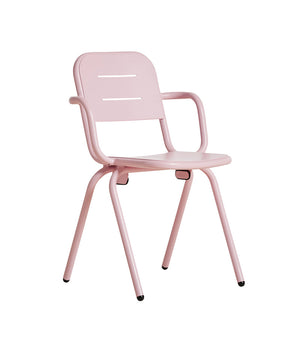 RAY café armchair, rose