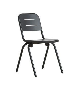 RAY café chair, charcoal