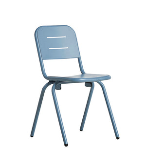 RAY café chair, blue
