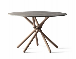 Hector dining table 120, Light Grey