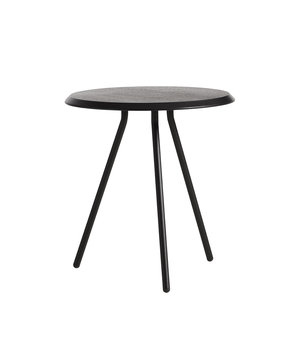 Soround side table black/Ø45/H48