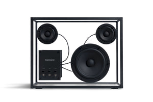 Transparent Speaker, matte black