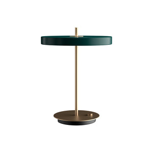 Asteria table lamp, forest green, US version