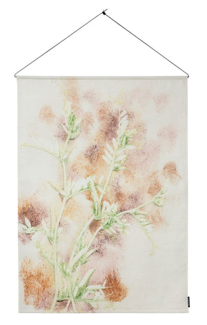 Textile Wall Hanging 100x140 cm vicia multi, incl. metal sticks
