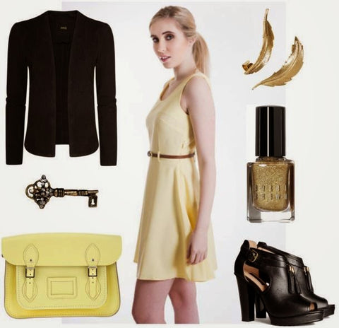 Lemon Dress #WeBlogger