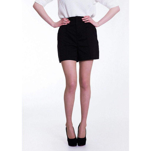 Black Culotte Shorts with Pockets WE Shorts