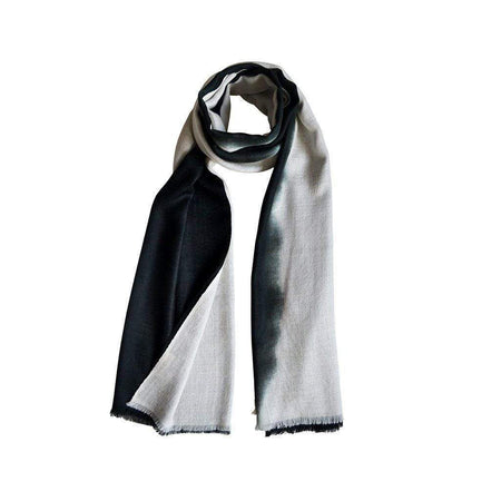 Cloud Grey Unisex Cashmere Scarf