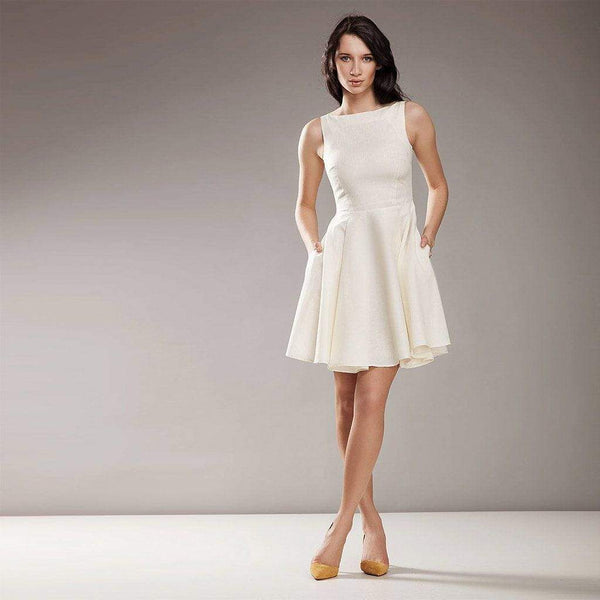 Classic White Dress Nife Dresses