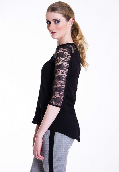 Lace Detailed Top Wear Eponymous Tops