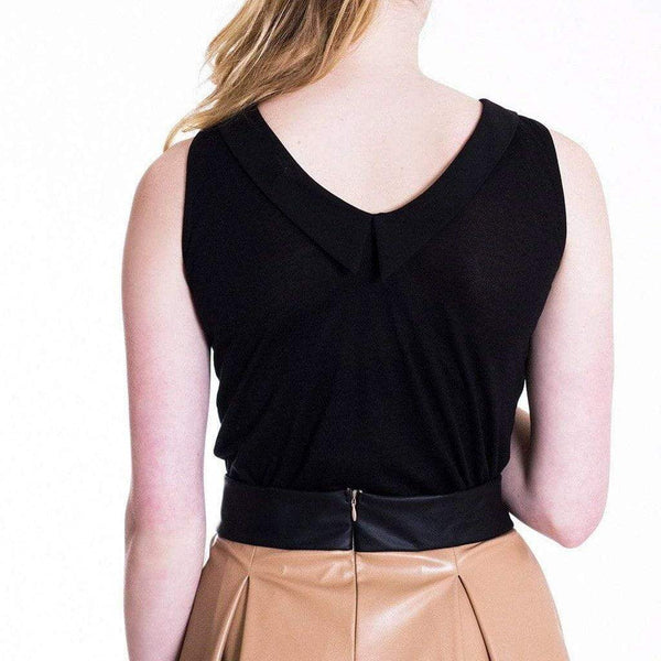 Lightweight Black Sleeveless Top WE Tops