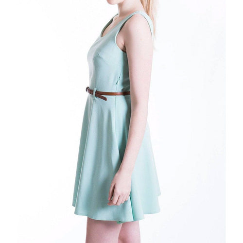 Mint Green Pastel Skater Dress MOE Dresses
