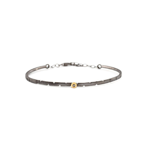 Slim Bracelet with Diamond Zeynep Alppay Bracelets