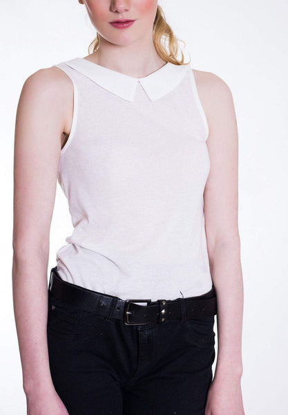 White Collared Tee Wear Eponymous Tops