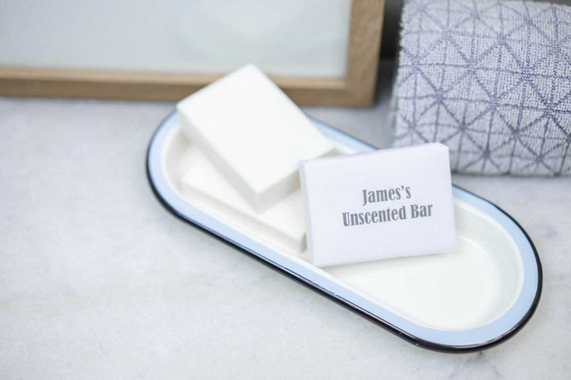 James's Organic Unscented Soap