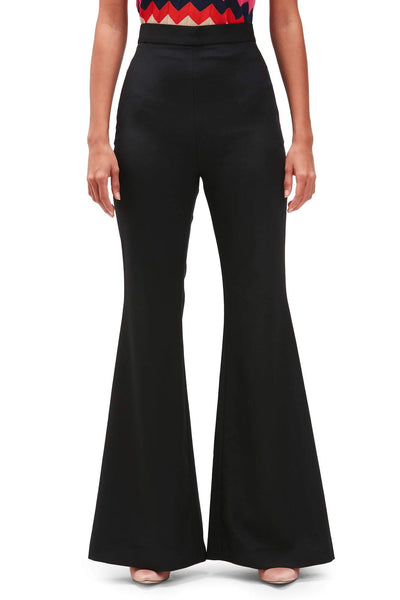 Balmain Black Flared Trousers