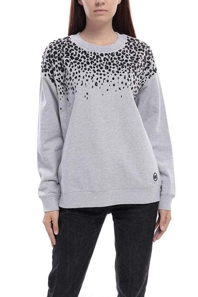 Michael Kors Patterned Cotton Sweatshirt