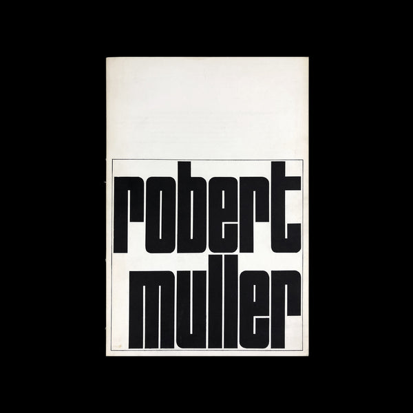 Robert Muller catalogue