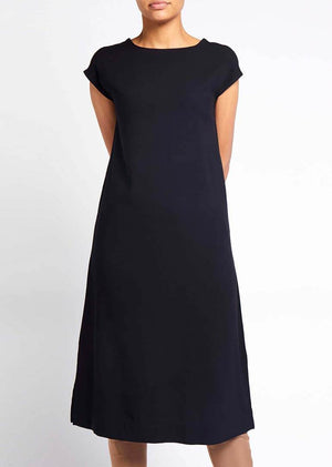 Black Slip Dress by Aab