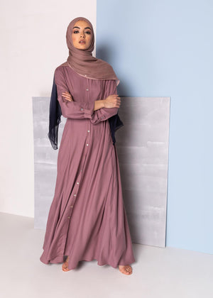 Cascara Maxi Dress Berry Aab