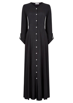 Cascara Maxi Dress Black Aab