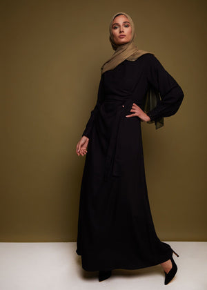 Emballage Abaya in Black by Aab