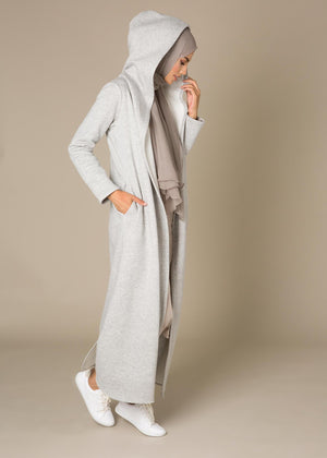 Hooded Fleece Grey