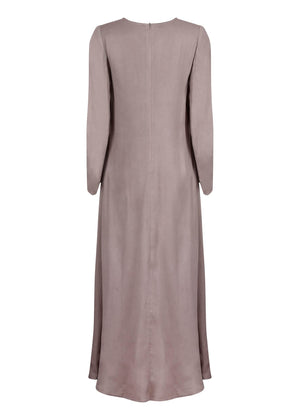 Long Line Abaya in Taupe by Aab