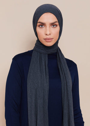 Turtle Neck Midi Navy