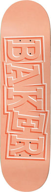 Baker Skateboards RH Ribbon Peach 8.0 x 31.5 Deck w/grip