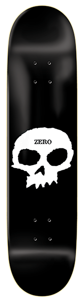 Zero Single Skull Skateboard Deck