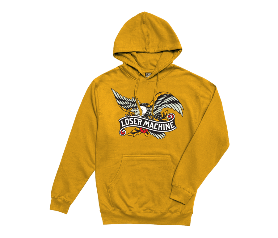 LOSER MACHINE CO. GLORY BOUND PULLOVER HOOD