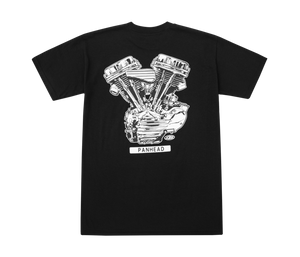 LOSER MACHINE CO. PANHEAD MOTOR SHORT SLEEVE T-SHIRT