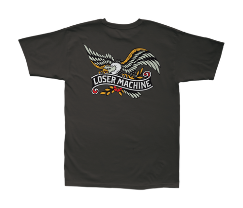 LOSER MACHINE CO. GLORY BOUND STOCK SHORT SLEEVE T-SHIRT