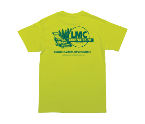LOSER MACHINE CO. LANDSCAPING STOCK SHORT SLEEVE T-SHIRT
