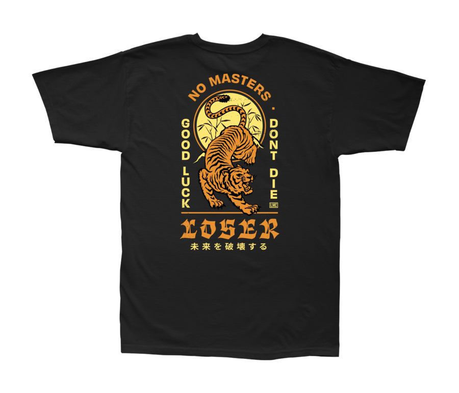 LOSER MACHINE CO. DOJO STOCK SHORT SLEEVE T-SHIRT