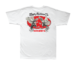 LOSER MACHINE CO. CHICKEN STOCK SHORT SLEEVE T-SHIRT