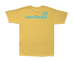 LOSER MACHINE CO. PRE UNIT PIGMENT SHORT SLEEVE T-SHIRT