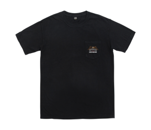 LOSER MACHINE CO. LMC X ESPINOZA'S REDLINE POCKET SHORT SLEEVE T-SHIRT