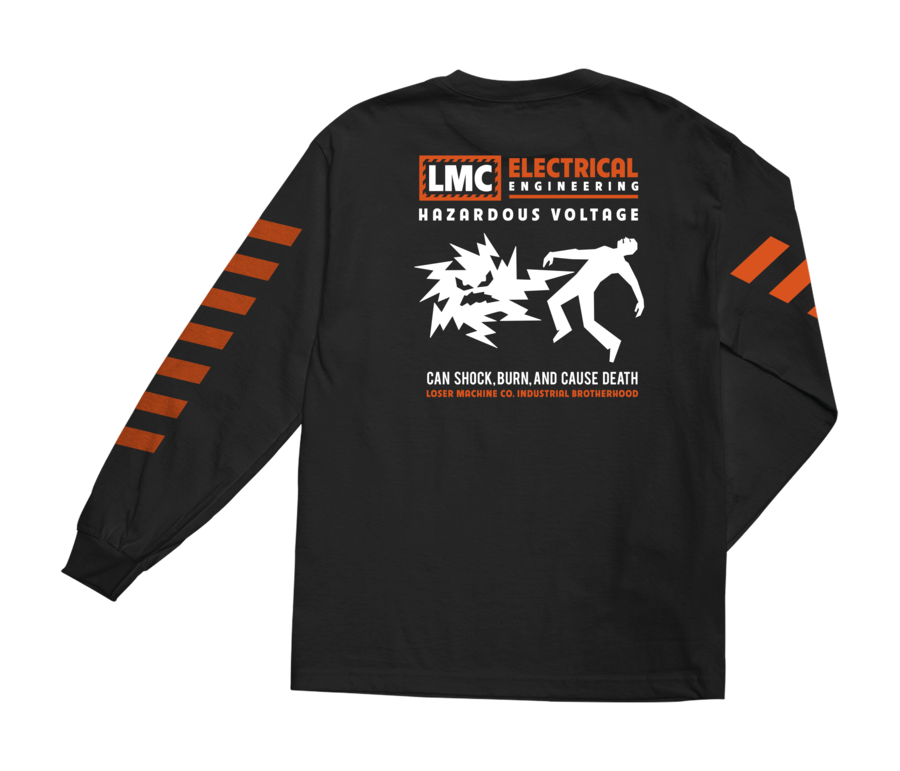 LOSER MACHINE CO. VOLTAGE LONG SLEEVE T-SHIRT