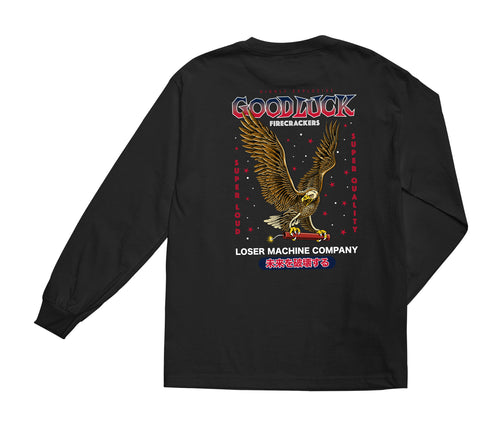 Loser Machine Co. Mens Condor Firecracker Long Sleeve T-Shirt