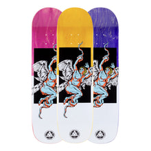 Load image into Gallery viewer, Welcome Skateboards Seraphim on Big Bunyip Black/White 8.5 x 32.5 Deck w/Grip