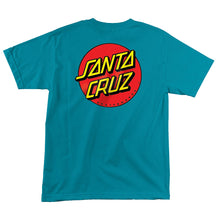 Load image into Gallery viewer, Santa Cruz Youth Classic Dot Short Sleeve T-Shirt 4414981