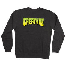Load image into Gallery viewer, Creature Skateboards Mens Creature Logo Crew Neck 44251333