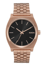 Load image into Gallery viewer, Nixon Watch Time Teller All Rose Gold / Black Sunray A045-2598