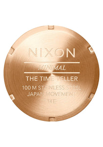 Nixon Watch Time Teller All Rose Gold / Black Sunray A045-2598