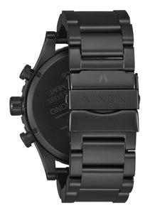 Nixon Watch 51-30 Chrono All Black / Yellow A083-3132