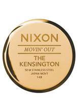 Load image into Gallery viewer, Nixon Watch Kensington All Gold A099-502